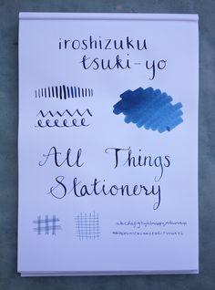 Iroshizuku Tsuki-Yo Ink