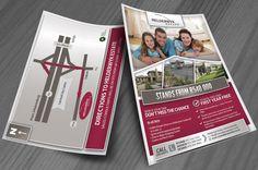 Helderwyk Estate Flyer Design Flyer Design, Flyers, Ruffles, Leaflets