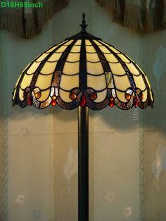 Grid Tiffany Lamp16S9-19F5