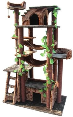 Amazon Cat Gym - CatsPlay.com - Fun furniture, condos and climbing gyms for cats and kittens.