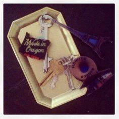 DIY Travel Photo Keychains / such a wonderful idea!