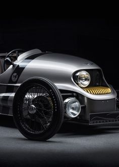 The Morgan EV3, set to be unveiled at the Geneva Motor Show 2016, is Morgan's first electric car