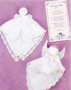 Angel Baby Church Doll Hanky