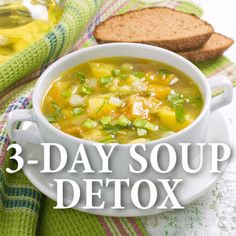 Dr Oz shared the details of his 3-day souping detox including the recipes you should use when following the plan to get healthy or lose weight.