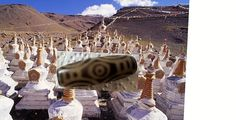 Tibetischer Drachenauge Tempel  DZI / Dragon eye DZI Heilung Healing Rarität!