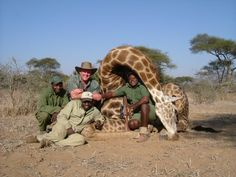 Stop Any Kind of Safari Hunting in Africa. Please sign