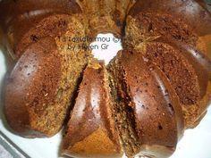 Κέικ με Χαρουπάλευρο, Δίχρωμο