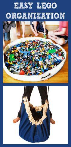 Organizing Legos Storage @ItsOverflowing