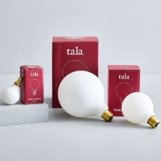 Tala Light Bulb - Porcelain I Mobile Chandelier, Globe Chandelier, Globe Pendant, Chandelier Lighting, West Elm, Overarching Floor Lamp, Mid Century Chandelier, Mirror Shop, Metal Canopy