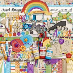 Quite The Artist by Jady Day Studio. $6.99