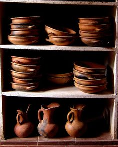 As potter's, we love the simple everyday use of real pottery in one's life.