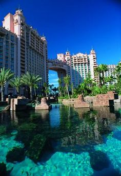 Atlantis Resort in the Bahamas. Simply amazing-one of my favorite vacation spots.