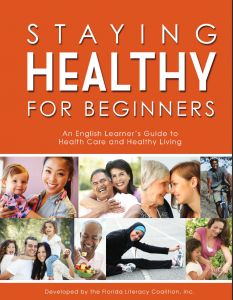 FREE ONLINE: This health literacy curriculum is written for adult learners at the high beginning level.  It includes a student book and a teacher guide.