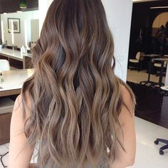 Chop! Perfect Fall Haircuts From L.A.'s Top Stylists #refinery29 http://www.refinery29.com/fall-haircut-styling-tips#slide7 The Stylist: Marcos Trueba, Sally Hershberger L.A. If you're growing out an ombré situation this fall, adding some strategically placed long layers is a great way to make the transitional period look totally intentional.