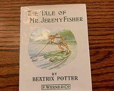 Articles similaires à Impression de jeremy sur Etsy Beatrix Potter, Collages, Articles, Books, Etsy, Impressionism, Libros, Collagen, Book