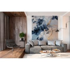 Large Wall Murals, Large Wall Art, Painting Tile Floors, Interior Architecture, Interior Design, Outdoor Furniture Sets, Outdoor Decor, 3d Wall, Wall Wallpaper