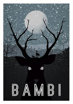 great series of disney posters... still can't watch bambi