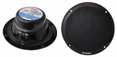 Pyle PLMR605B 6 1/2-Inch Dual Cone Marine Speakers (Black) by Pyle. $28.99. From the Manufacturer                                          6 ½-Inch Dual Cone Marine Speaker         view larger                               400 Watt Peak Power         view larger                               Also available in White                                 Comes with (2) Speakers         view larger                               Marine Audio Speakers         view larger  ...