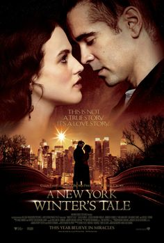 This looks like a lovely movie - A New York Winter's tale w/Jessica Brown Findlay and Colin Farrell