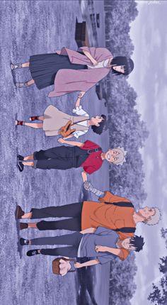 Uzumaki Family, Boruto, Wallpapers, Anime, Movies, Movie Posters, Art, Art Background, Films