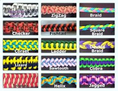paracord weaves | Custom made paracord items.