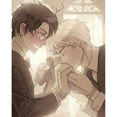 I dunno it was put under Drarry but the whole cowlick thing is making me believe that it's Austria and Prussia