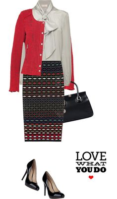 """""""Skirt by M MISSONI"""" by fashionmonkey1 ❤ liked on Polyvore"""