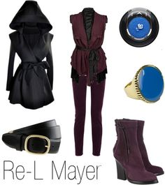 Re-L Mayer - Ergo Proxy  <<<  I don't know the character or the fandom, but iI love this outfit