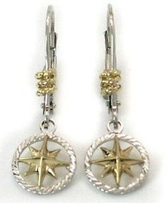 Petite 14k Gold Anchor Stud Earrings Nautical jewelry and Gold