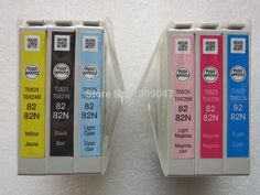 82N ink cartridge T0821N T0822N T0823N T0824N T0825N T0826N genuine ink cartridges For Epson R270/R290/R295/R390
