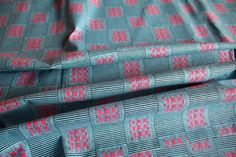 Kente Print Fabric Ankara African Print African by EtamStudio Ankara Fabric, African Fabric, Unique Outfits, Ghana, Crafts To Make, Printing On Fabric, Wax, How To Make, Cotton