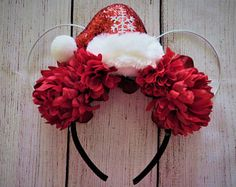 Image result for wire mickey ears christmas