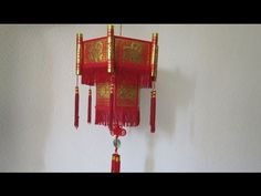 INTRODUCTION - How to make the Chinese New Year Lantern using Hong Bao Paper (怎么用新年红包做爆竹) - YouTube China Crafts, New Year's Crafts, Craft Stick Crafts, Fun Crafts, Diy And Crafts, Arts And Crafts, Chinese New Year Gifts, Chinese New Year Decorations, New Years Decorations