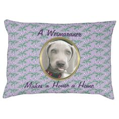 A Weimaraner Makes a House a Home dog bed large dog bed