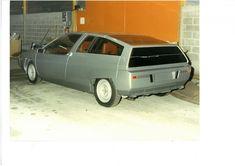 Citroen XB coupe proposal from 1980 Psa Peugeot Citroen, Citroen Car, Citroen Concept, Concept Cars, Manx, Shooting Brake, Transportation Design, Old Cars, Fiat