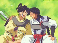 Bankotsu and Jakotsu ~ Inuyasha gif