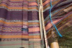 Andean backstrap weaving