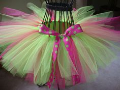 pink and lime tutu