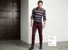Justice Joslin Models Contemporary Fall 2014 Styles for Simons