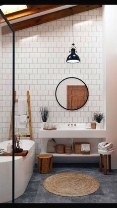 Bathroom interior design 317714948712091989 - Tips in Creating Your Family Bathroom Source by diaryofaTOgirl Bad Inspiration, Bathroom Inspiration, Family Bathroom, Small Bathroom, Serene Bathroom, Bathroom Ideas, Boho Bathroom, Earthy Bathroom, Bathroom Modern