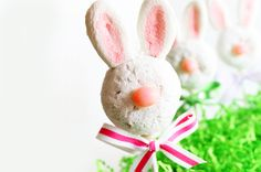 Easter bunny donut pops- 15 Easter Crafts, Activities, and Treats for Kids I Easter Ideas for Kids - ParentMap
