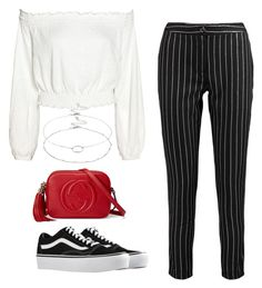 """""""75"""" by ddaisiee on Polyvore featuring Boohoo, Vans, Gucci and Accessorize"""