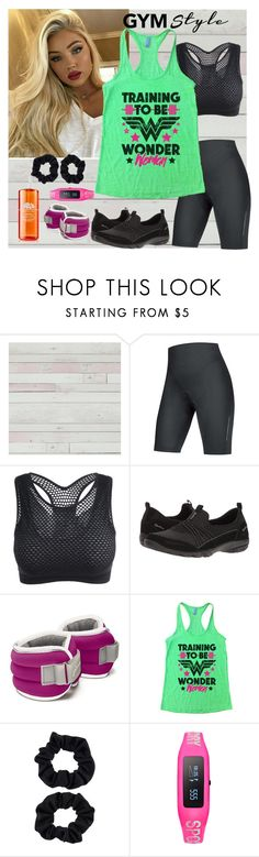 """""""Training for WW"""" by dobesht ❤ liked on Polyvore featuring Gore Bike Wear, Skechers, Accessorize, Superdry and Origins"""