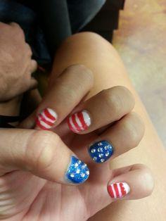 American nails:)