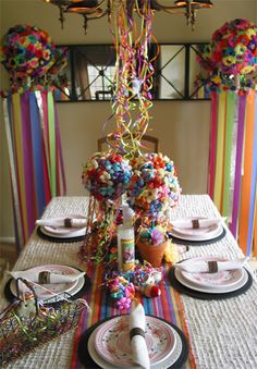 alamodeus: Decorating the Fiesta table ...