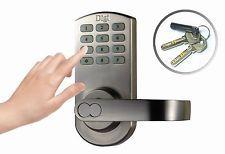 Weatherproof keypad + Fingerprint Door Lock Office Home use 6600-209 Left handle    #Fingerprint #DoorLock #door #keypad #Satin #chrome #handdoor #Electronic #Password #Card #Key #Handle #Nickel #home #office #Mechanical #gold #Freeshipping