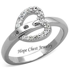 Hope Chest Jewelry - CLEARANCE - WOMEN'S SILVER TONE HEART SHAPE BELT BUCKLE CZ FASHION RING, $9.00 (http://www.hopechestjewelry.com/clearance-women-s-silver-tone-heart-shape-belt-buckle-cz-fashion-ring/)