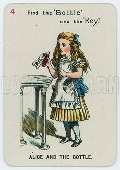 picture, John Tenniel, illustrator, cartoonist, Alice in Wonderland Alice In Wonderland Figurines, Alice In Wonderland Characters, Alice And Wonderland Quotes, Adventures In Wonderland, Alice Quotes, Doodle, Alice Liddell, John Tenniel, Disney Cards