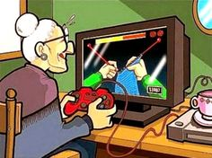 Video gaming for seniors