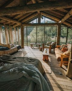 Dream Home Design, My Dream Home, House Design, Cabins In The Woods, House In The Woods, Bungalow, Deco Boheme, Cabins And Cottages, Cozy Cabin